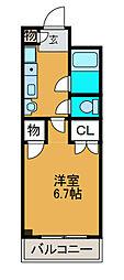 メゾン渋谷[2階]の間取り