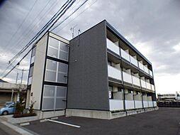 長野県上田市天神3丁目の賃貸アパートの外観