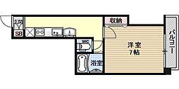 ラフォーレ堺町[501号室号室]の間取り