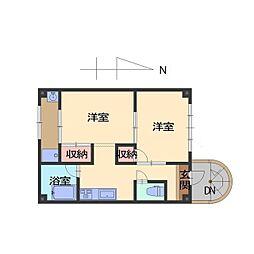 ASAHIハウス[3号室]の間取り