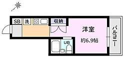 神奈川県相模原市南区新磯野1丁目の賃貸マンションの間取り