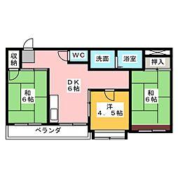 第2豊郷ビル[4階]の間取り