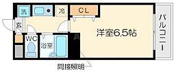 ティアラ小松[2階]の間取り