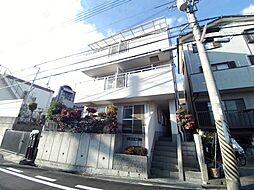 兵庫県神戸市東灘区岡本2丁目の賃貸アパートの外観