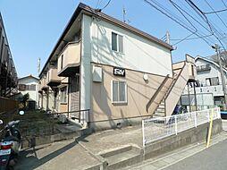 千葉県松戸市小金清志町2の賃貸アパートの外観