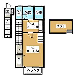 トップハウス富士 II[2階]の間取り