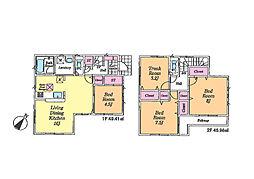 一戸建て(鶴ヶ島駅から徒歩11分、96.39m²、2,950万円)