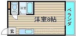 東浅香山マンション[3階]の間取り