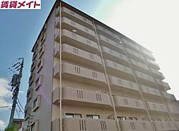三重県四日市市ときわ5丁目の賃貸マンションの外観