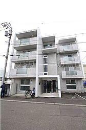 北海道札幌市豊平区平岸四条9丁目の賃貸マンションの外観