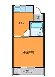 シティマンション[4階]の間取り