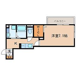 JR東海道本線 静岡駅 バス13分 南安倍町下車 徒歩3分の賃貸アパート 3階1Kの間取り