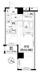 スパシエルクス横浜[4階]の間取り
