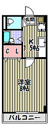 メゾンルミエラ[2階]の間取り