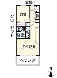 SK'BUILDING−3[5階]の間取り