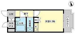 藤和シティコア姫路駅前[9階]の間取り