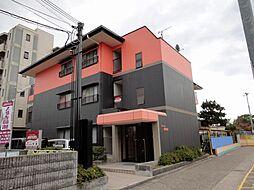 マンション東神田[1階]の外観