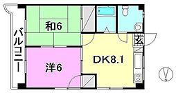 第79杉フラット[401 号室号室]の間取り