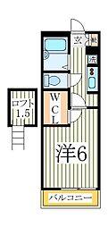 クリサンスマムII[3階]の間取り
