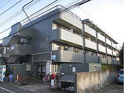 東京都国立市西の賃貸マンションの外観