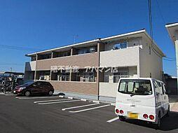 広島県福山市新浜町1の賃貸アパートの外観