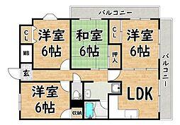 喜連瓜破駅 7.3万円