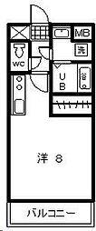 T・Yマンション2[401号室]の間取り