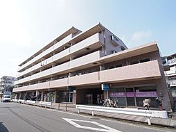 神奈川県川崎市多摩区中野島の賃貸マンションの外観