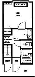 セントラルタウン[1階]の間取り