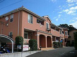 神奈川県藤沢市石川2丁目の賃貸アパートの外観