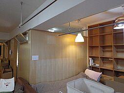 北側の洋室まで天井部は開口してあります