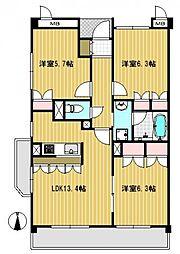 N.グランドゥール[0306号室]の間取り