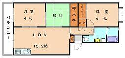 エクセレント塩浜[2階]の間取り