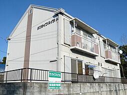 サンライフハイツA棟[201号室]の外観