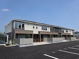 埼玉県桶川市大字加納の賃貸アパートの外観