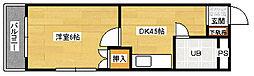 Michiroom長束[301号室]の間取り