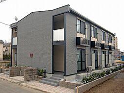 埼玉県吉川市平沼の賃貸アパートの外観