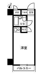 ライオンズプラザ横浜大通り公園[7階]の間取り