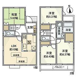 [一戸建] 東京都練馬区大泉学園町7丁目 の賃貸【/】の間取り