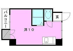 第2菊池ビル[301 号室号室]の間取り