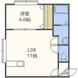 NUコートI[2階]の間取り