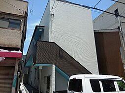 兵庫県尼崎市竹谷町1丁目の賃貸アパートの外観
