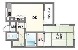 日晃マンション[3階]の間取り