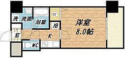 S-RESIDENCE緑橋駅前[9階]の間取り