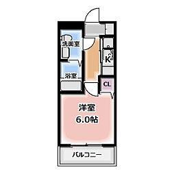 エクセルガーデンA棟[2003号室]の間取り