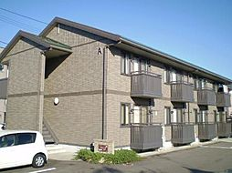 富山県富山市石金2丁目の賃貸アパートの外観