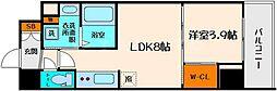 コンフォリア江坂[3階]の間取り