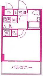 ワコーレ宮前平[3階]の間取り