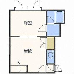 プラネット[3階]の間取り