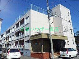 北海道札幌市東区伏古三条2丁目の賃貸マンションの外観